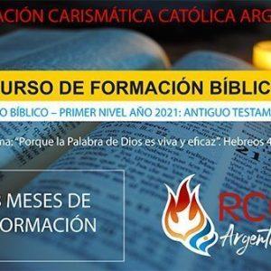 CUOTA 6 – CURSO DE FORMACIÓN BÍBLICA ( opción ofrenda ar$500)