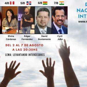 APORTE OPCIÓN  1  AR$ 500. RETIRO NACIONAL DE INTERCESIÓN
